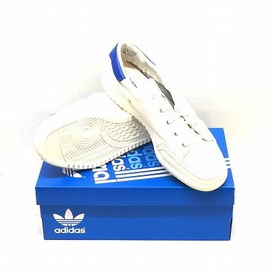 newest 1f75f 7b47e It includes an ADIDAS Adidas GARWEN SPZL garfish wen SPZL B41825 men US9.5  27.5CM white blue used consumption tax