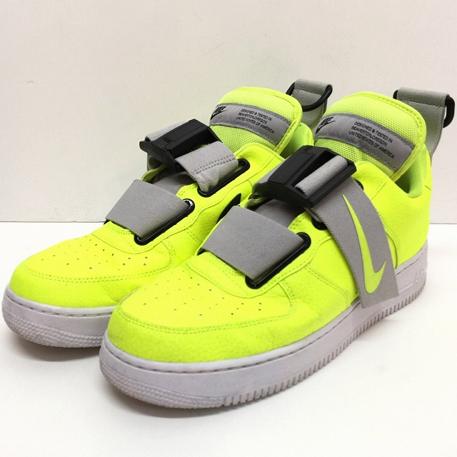 It includes 18AW model bibit yellow fluorescence yellow men sneakers US10 28cm AO1531 700 used consumption tax in winter in the NIKE Nike AIR FORCE 1