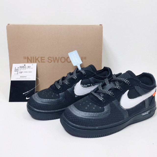 2cc4bb92dbf04 [product explanation] NIKE FORCE 1(TD) is the arrival 2018AW THE 10 from  NIKE x Off-White! The one you are looking for without passing over!