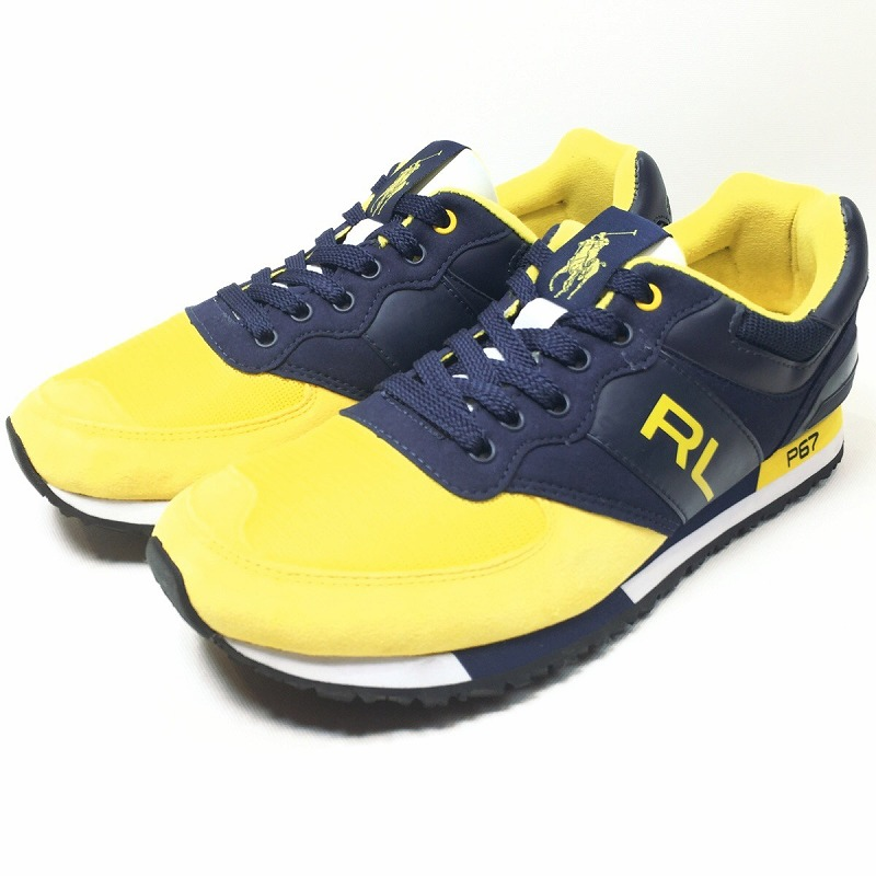 Men Used Sport Tax It Includes Ralph Lauren Shoes Sneakers Sports A Fashion Ivy Polo Slaton Rl For Consumption l1JcKF