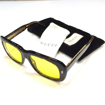 GUCCI Sunglasses グッチ サングラス べっ甲 カラーレンズ ハバナフレーム GG 1150/S KCLHO メンズ レディース ユニセックス 男女兼用 中古 消費税込 送料無料 【Y】