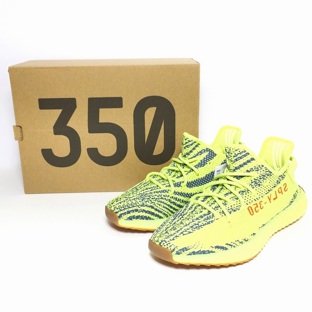 Tag 付未使用消費税込 for adidas originals Adidas Yeezy Boost 350 V2