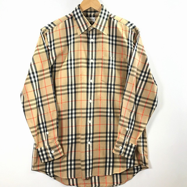 0e2381cc It includes a BURBERRYS Burberrys check shirt Burberry check shirt NOVA  check tops men unisex long ...