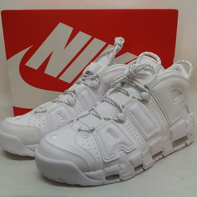 b4c83926e7da It includes a beautiful article used consumption tax with the NIKE Nike AIR  MORE UPTEMPO 96  air more up tempo more ten white WHITE US9.5 27.5  centimeters ...