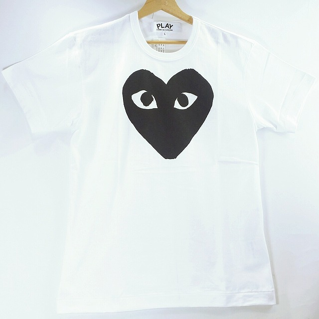 1516d6afb63 ... TOP T-cloth logo print T-shirts are available from PLAY COMME des  GARCONS. It is the article that I am in the basic that it is easy to mix-and-match