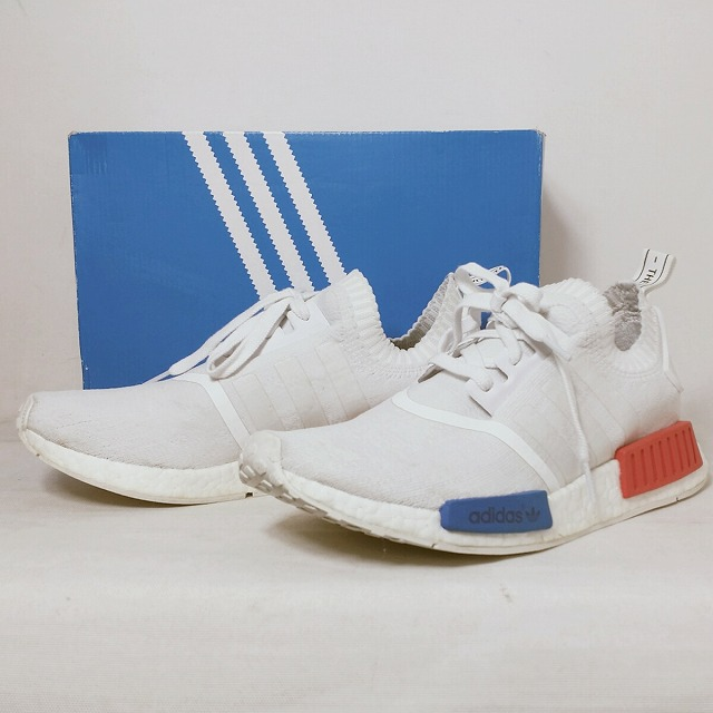 quality design b8464 9dd86 It includes sneakers N M D red men used consumption tax with the ADIDAS  Adidas adidas originals NMD RUNNER PK WHITE S79482 US9 (27.0cm) white red  box