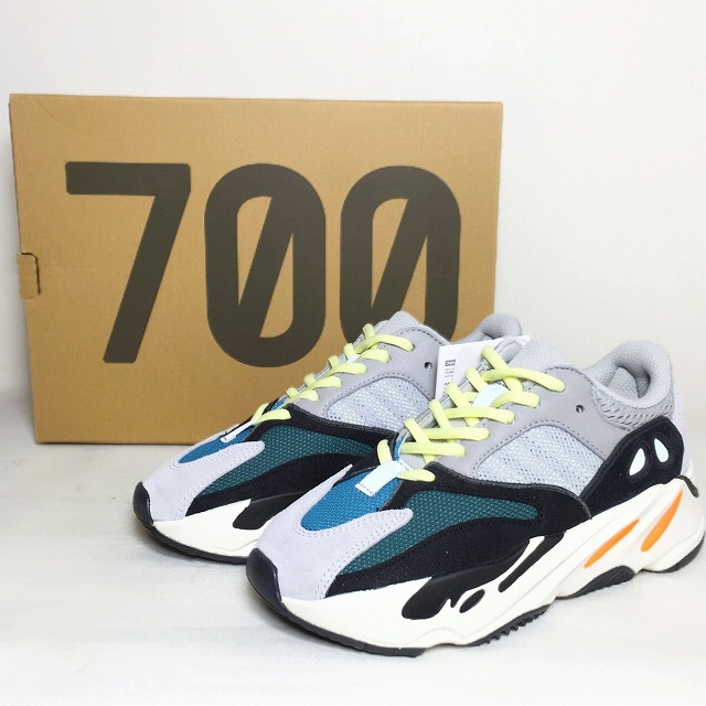 3a4352c3538 It includes an adidas YEEZY BOOST 700 WAVE RUNNER us4 22cm B75571 Adidas  Kanye West Kanie waist sneakers shoes gray black easy boost 700 wave runner  used ...