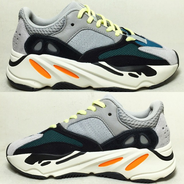 03bb2338e It includes an adidas YEEZY BOOST 700 WAVE RUNNER us4 22cm B75571 Adidas  Kanye West Kanie waist sneakers shoes gray black easy boost 700 wave runner  used ...