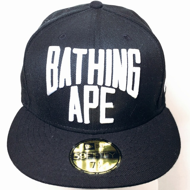 2204aeb8891 A BATHING APE アベイシングエイプ BAPE ベイプ NYC LOGO NEW ERA B.B. It includes a CAP  new gills cap BASEBALL baseball hat men gap Dis black W name ...