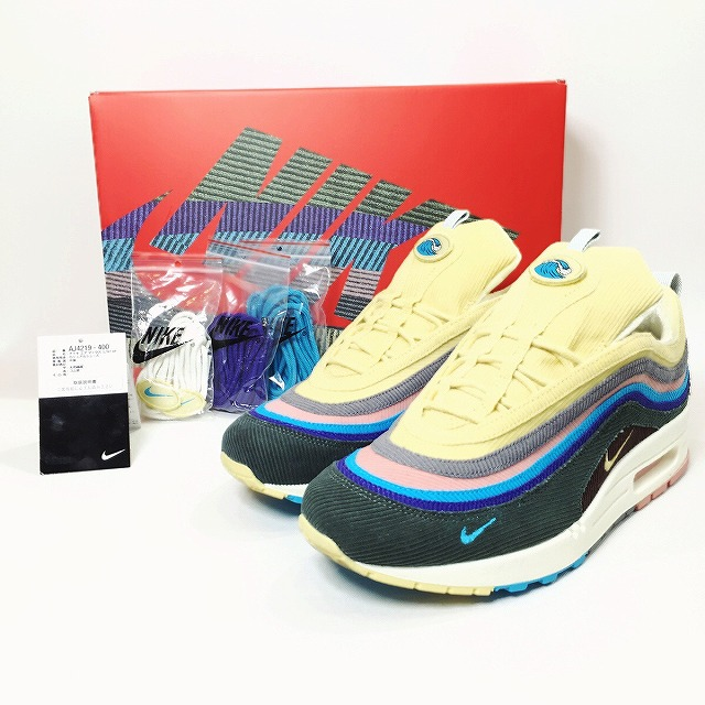 f550301628 [product explanation] SEAN WOTHERSPOON X NIKE AIR MAX 1/97 V.F. is  available! The one you are looking for without passing over!