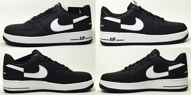 NIKE AIR FORCE 1 SUPREME CDG ar7623 001 blackwhite ナイキエアフォースシュプリーム COMME des GARCONS free article