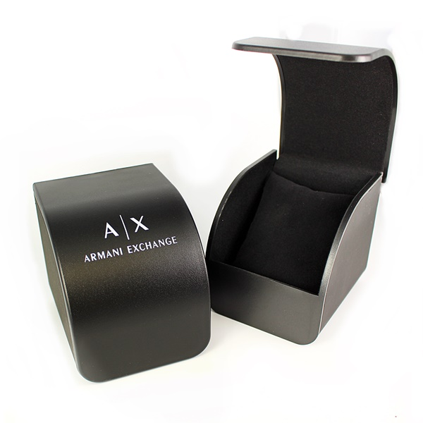 アクセ収納BOXつき アルマーニエクスチェンジ 時計 ペアウォッチ 2本セット 腕時計 シルバー ステンレス AX1813AX5600 誕生日 お祝い ギフトFKc1Jul3T
