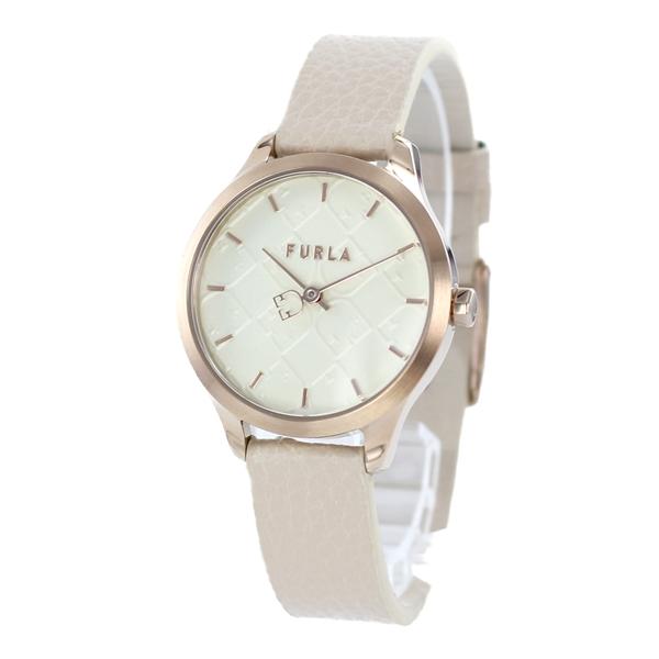 注文割引 【スーパーSALE】FURLA フルラ 時計 レディース 腕時計 Shield シールド ピンクゴールド ホワイト ベージュ レザー 革 R4251131502 誕生日プレゼント, コウラチョウ 71261908