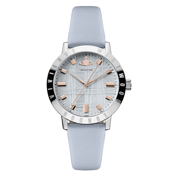 激安価格の ヴィヴィアン ウエストウッド 時計 レディース 腕時計 ブルームズベリー 青 ライトブルー レザー VV152BLBL 誕生日プレゼント, 7インテリア e44422b6