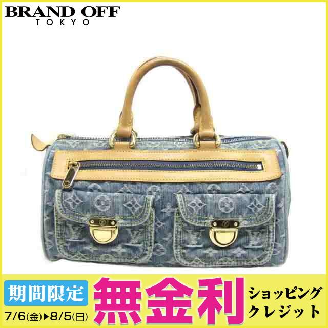 f80169352c6b ... バッグ レディース モノグラム | デニム ブルー (M95019) | 送料無料 レディースバッグ ハンドバック ブランドバッグ 美品 鞄  カバン ブランドオフ (201804)