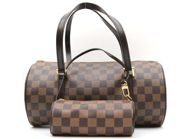a4d06066cbae BRANDOFF  Authentic LOUIS VUITTON Damier Papillon GM HandBag Ebene ...
