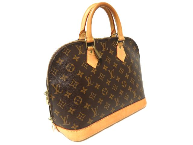5984f0e7e03e BRANDOFF  Authentic LOUIS VUITTON Alma PM Handbag Monogram Canvas ...