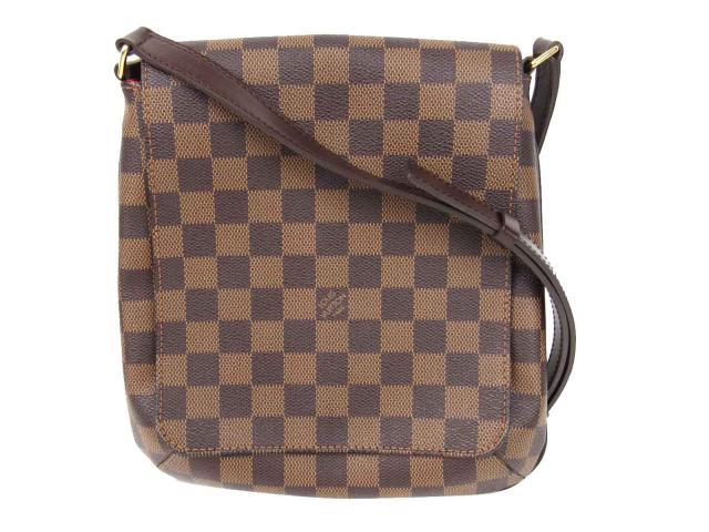 Authentic LOUIS VUITTON Musette Salsa Long Strap Shoulder Flap Bag Damier  N51300 000b3bebc6