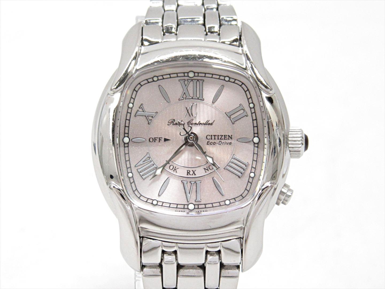 【中古】シチズン クロスシー エコドライブ 腕時計 ウォッチ 時計 レディース ステンレススチール(SS) (H330-T007953) (201806)
