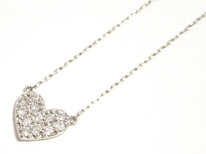 ジュエリー ダイヤモンドネックレス ノーブランドジュエリー レディース PT900 プラチナ PT850 プラチナ ダイヤモンド0.20ct (201806)