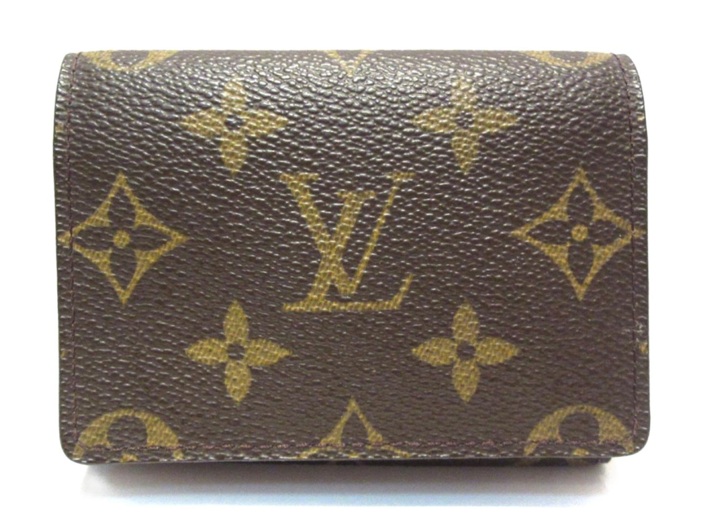 Brandoff Authentic Louis Vuitton Envelope Business Card Holder