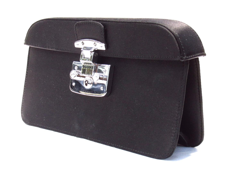 0334349e38c8 BRANDOFF  Authentic GUCCI Clutch Bag Second Bag Nylon x Leather ...