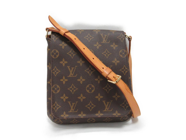 Authentic LOUIS VUITTON Musette Salsa short Shoulder Bag M51258 Monogram db75217f64