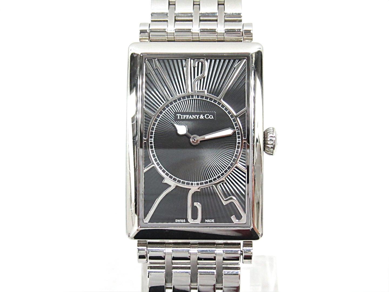 【中古】ティファニー ギャラリー 腕時計 ウォッチ レディース ステンレススチール(SS) (Z3002)
