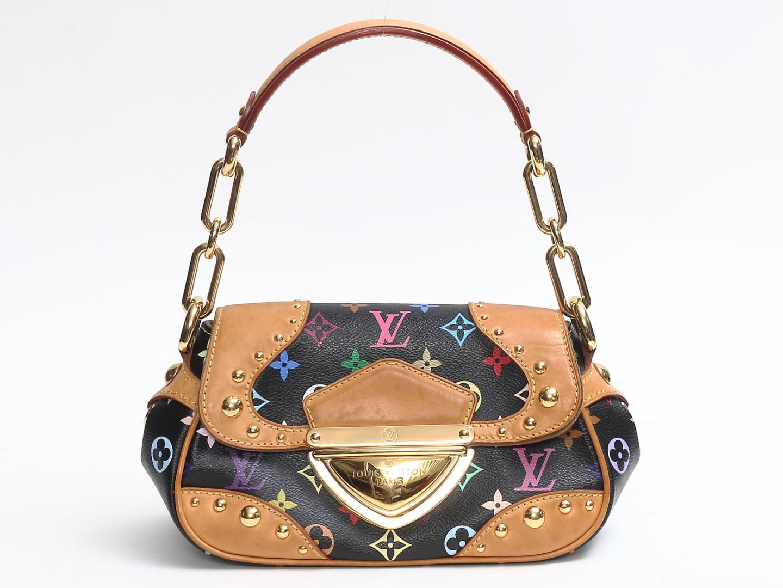 c0fe31412ad Authentic LOUIS VUITTON Marilyn Shoulder Bag M 40128 Monogram Multicolor  (M40128)