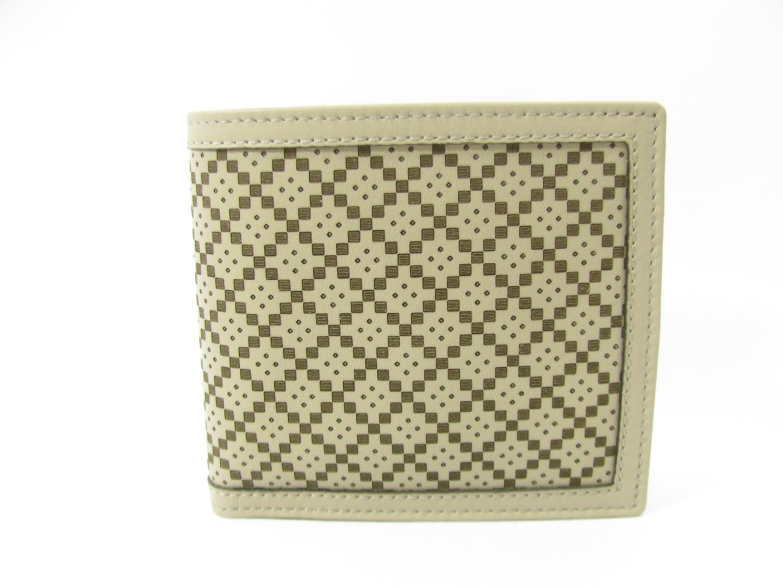 グッチ 二つ折財布 財布 メンズ レザー ベージュ (237359AP06N1523) (201807)