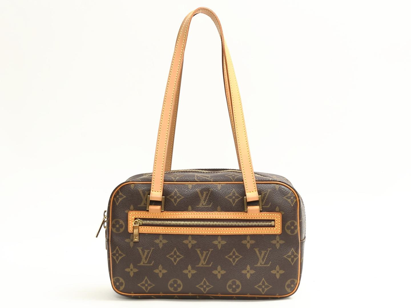 cec3993769bc BRANDOFF  Authentic LOUIS VUITTON Cite GM Shoulder Bag monogram ...