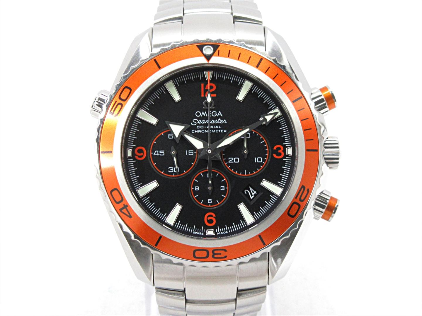 Auth Omega Seamaster Planet Ocean Watch 2218 50 Automatic Stainless Steel Used Brandoff Ginza Tokyo Japan