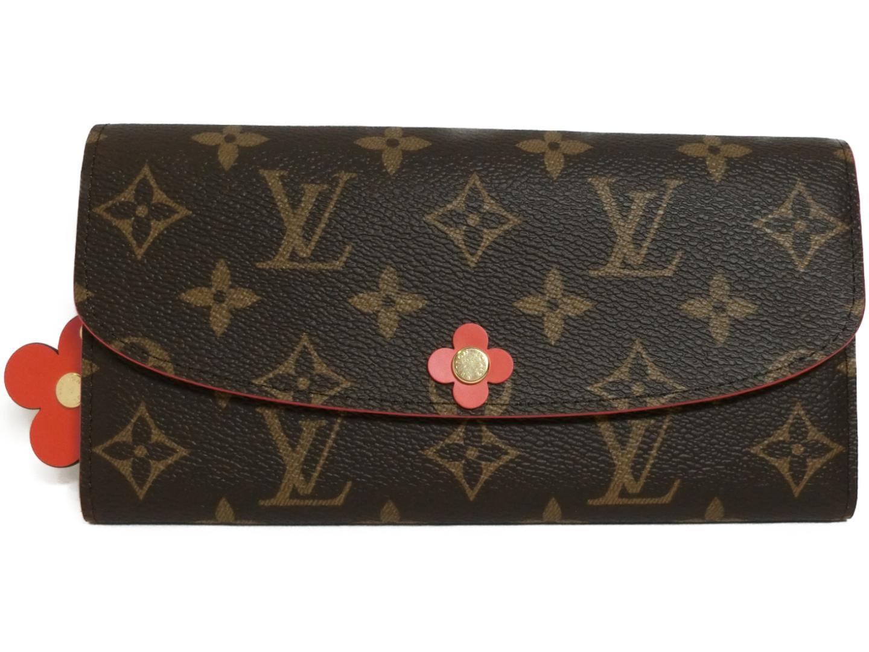 Authentic LOUIS VUITTON Portefeuille Emilie Purse Wallet M62941 Monogram 6af200c6e8a