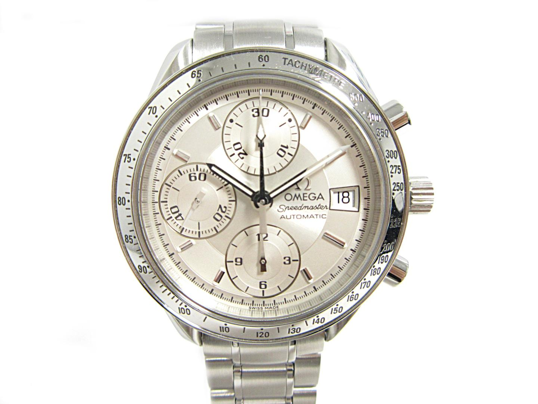 【中古】オメガ スピードマスター デイト 腕時計 ウォッチ 時計 メンズ ステンレススチール(SS) (3513.30)