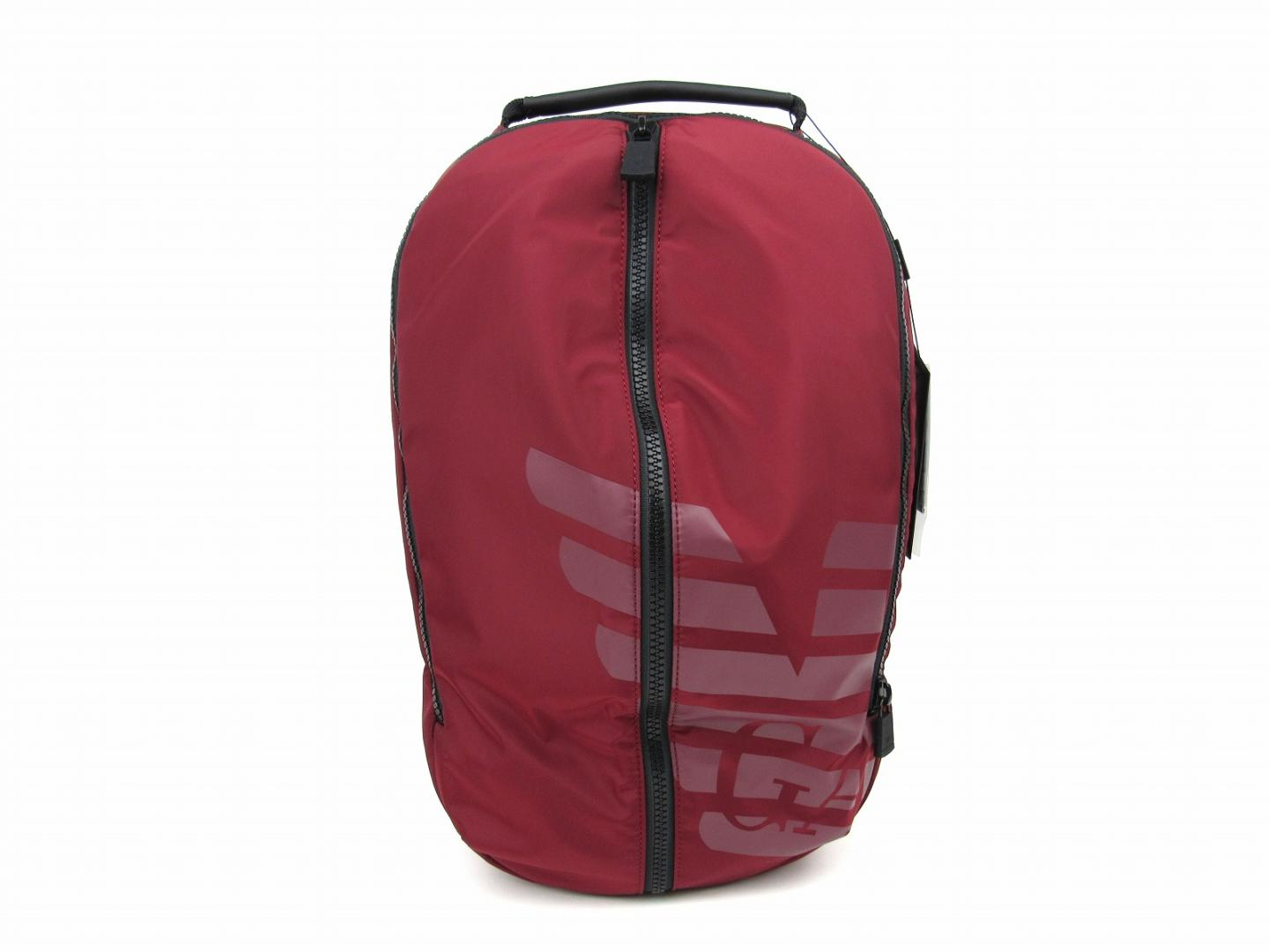 Authentic EMPORIO ARMANI rucksack backpack nylon Bordeaux Black  (Y4O125YKS6V88447) e65bfe5b4b