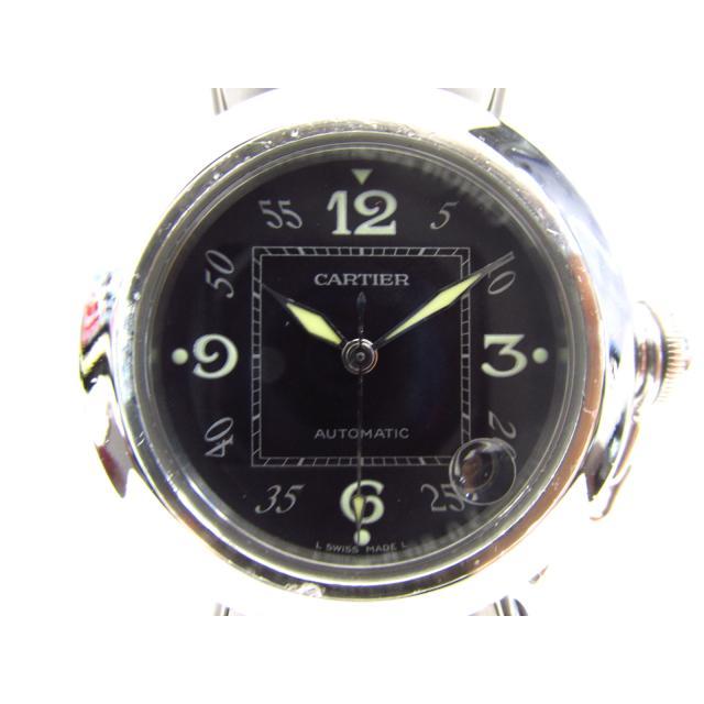 【中古】カルティエ パシャC 腕時計 ウォッチ 時計 ステンレススチール(SS)