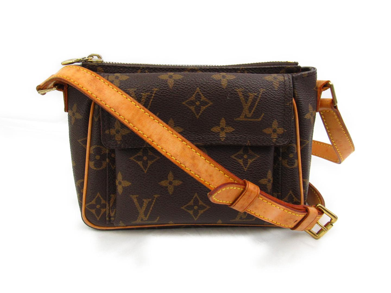 BRANDOFF  Authentic LOUIS VUITTON Viva Cite PM Shoulder Bag M51165 ... f99439d2a23e2