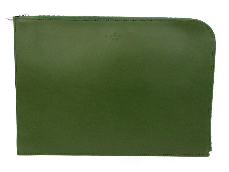2a9c22ddfb8b 【中古】ルイヴィトン ポッシュ・ドキュマン ビジネスバッグ バッグ ノマド ヴェール (M85124)