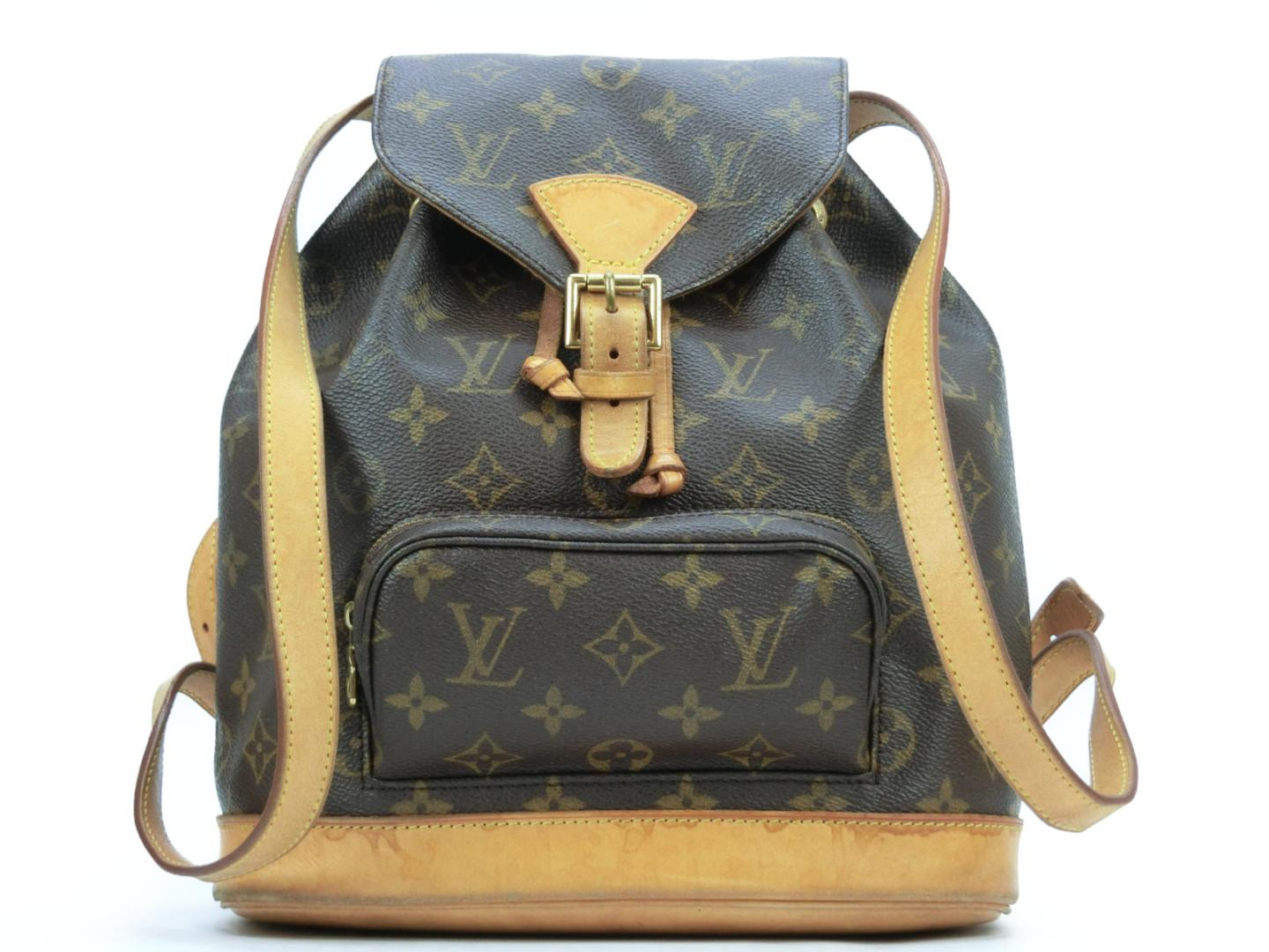 58c482a81002 BRANDOFF  Authentic LOUIS VUITTON Montsouris MM Backpack M51136 ...