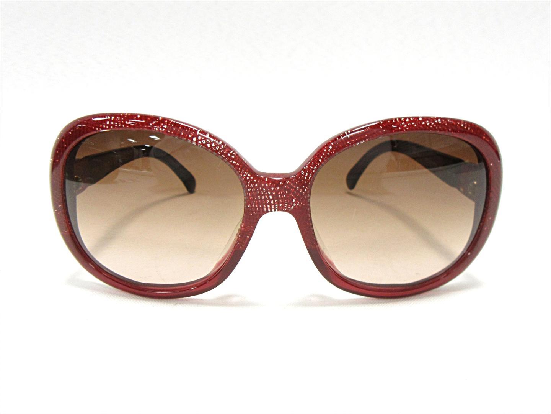 50c48ea6e8c BRANDOFF  Authentic CHANEL sunglasses 5176-A c. 1198 3 P plastic Red ...