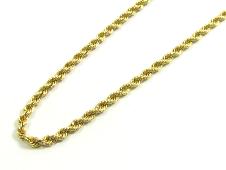 c1ab0548d87f 【中古】ジュエリー K18YG イタリアン チェーン 貴金属 宝石 レディース K18YG(750) イエローゴールド