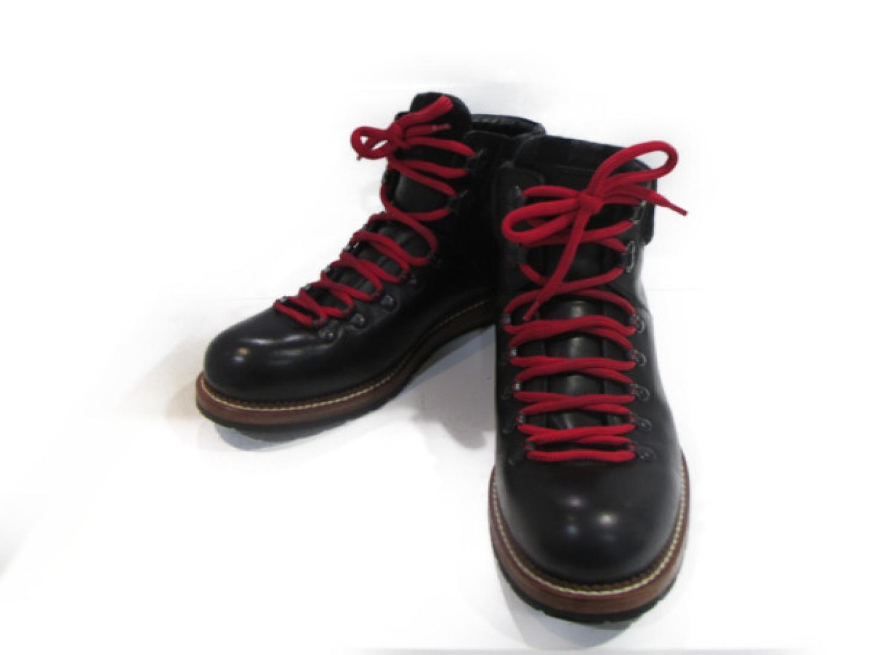 【中古】 ルイヴィトン ブーツ / MEN'S メンズ ダミエxレザー ブラック | LOUIS VUITTON BRANDOFF ブランドオフ ヴィトン ビトン ルイ・ヴィトン 男性 ブランド 靴 シューズ クツ
