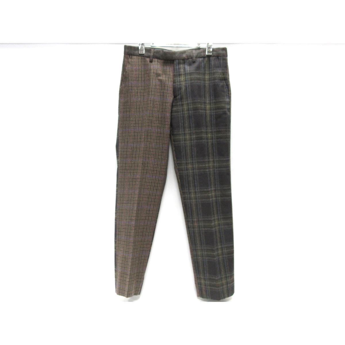 【中古】エトロ パンツ 衣料品 メンズ ウール(95%)xカシミヤ(5%) マルチカラー