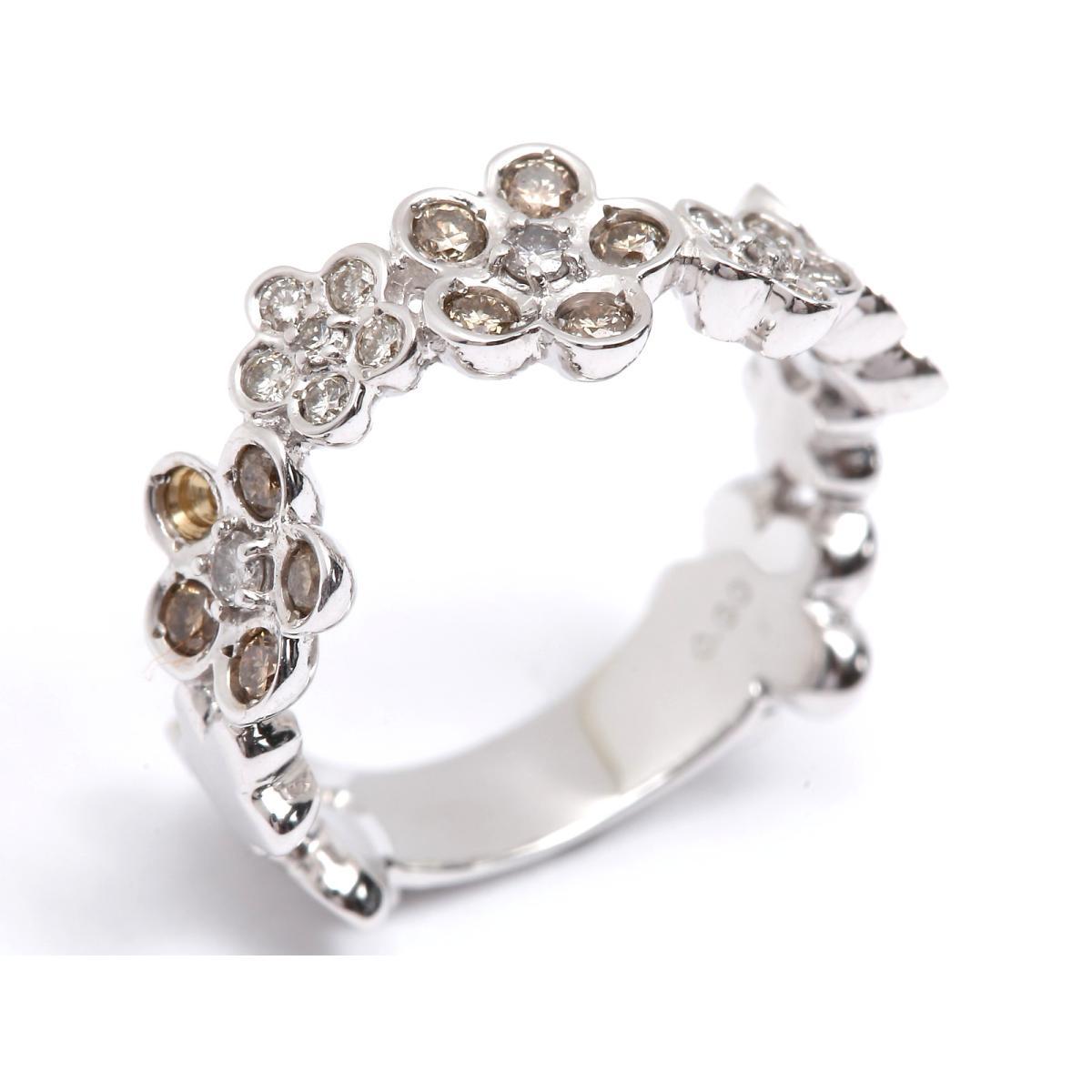 9ac45d8759b2 最大24回 | ジュエリー ダイヤモンド リング 指輪 レディース K18WG (750) ホワイトゴールド x ダイヤモンド0.60ct | |  JEWELRY BRANDOFF ブランドオフ アクセサリー