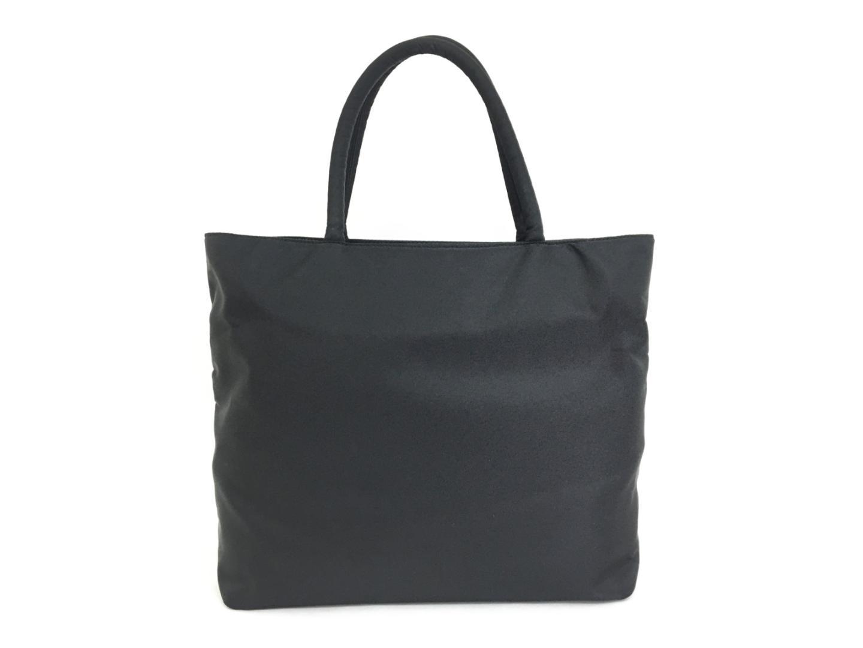 BRANDOFF  Authentic PRADA Nylon Tote Bag Nylon Black  26f4bb4205557