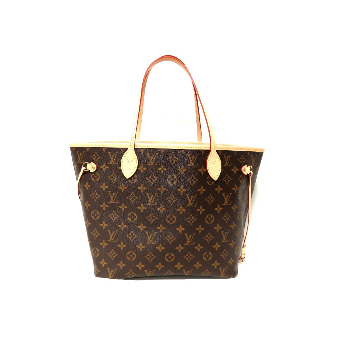 676f84b552df BRANDOFF  Authentic LOUIS VUITTON Neverfull MM Shoulder tote Bag M41177  Monogram canvas