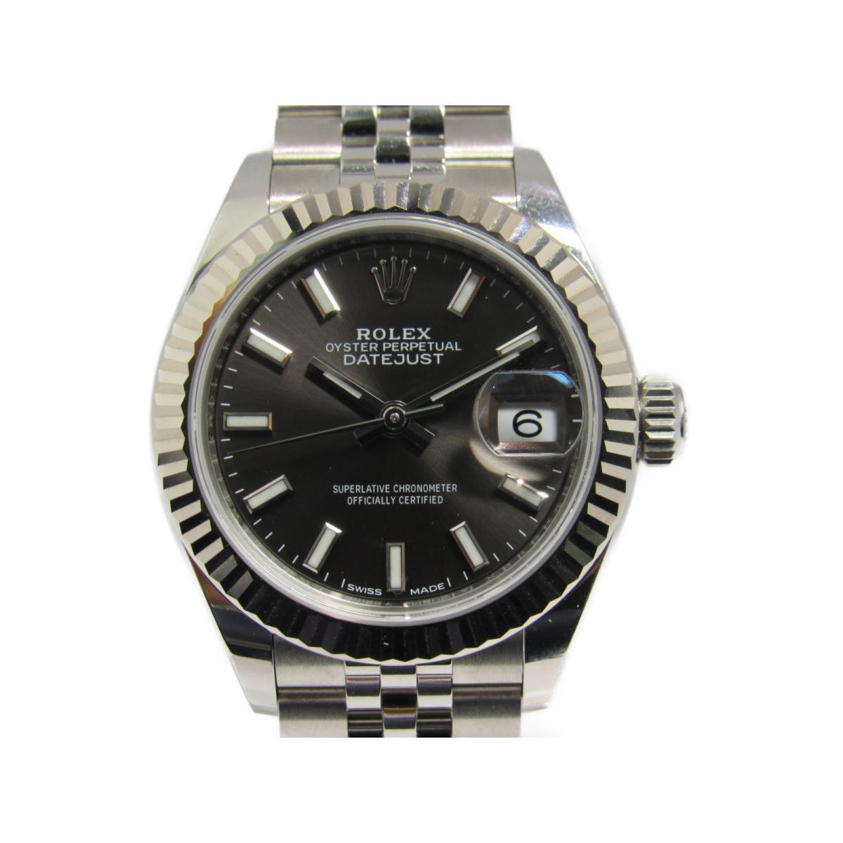 ロレックス デイトジャスト 腕時計 ウォッチ レディース ステンレススチール (SS) K18WG シルバー (279174) 【中古】   ROLEX BRANDOFF ブランドオフ ブランド ブランド時計 ブランド腕時計 時計