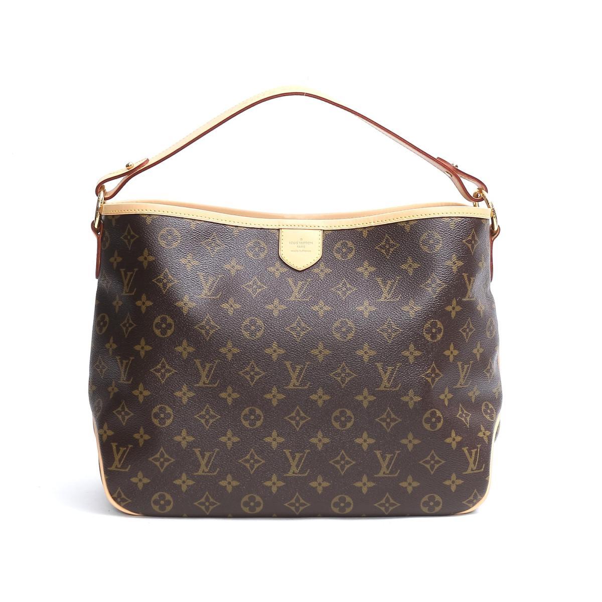 Authentic LOUIS VUITTON Delightful PM One Shoulder Bag Monogram Canvas  M50155 e6736e91a8bcf