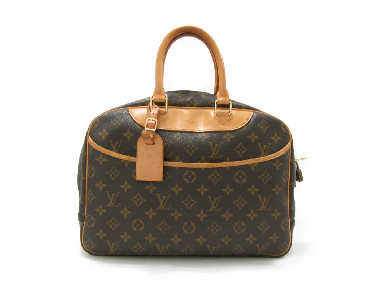 27985774ee95 BRANDOFF  Authentic LOUIS VUITTON Deauville HandBag Bag Monogram ...