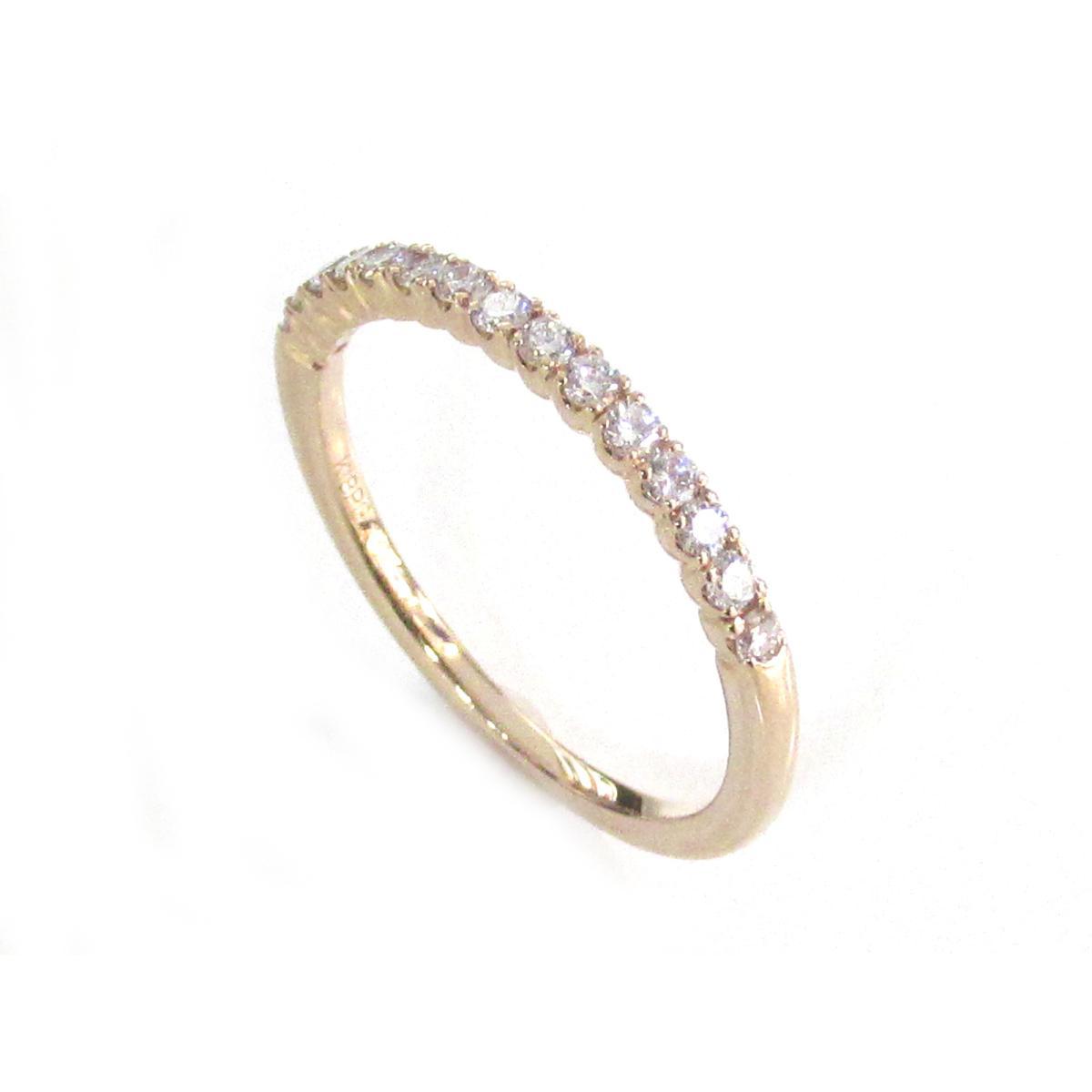 【最大24回無金利】 ジュエリー ダイヤモンドリング ノーブランドジュエリー レディース K18PG (750) ピンクゴールドxダイヤモンド (0.23ct) 【中古】   JEWELRY BRANDOFF ブランドオフ アクセサリー 指輪 リング
